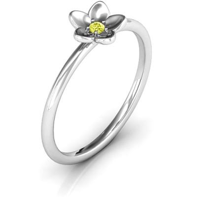 Stackr 'Azelie' Flower Ring