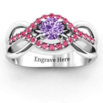 Sterling Silver Fancy Woven Ring